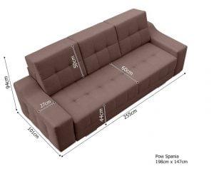 Sofa do salonu Vegas A Meble-Diana.pl