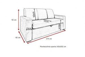 Komplet wypoczynkowy Sorento 3rp+1p+1p Meble-Diana.pl