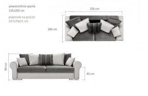 Sofa do salonu Deluxe Meble-Diana.pl