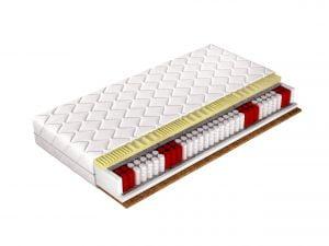Promocja materac kieszeniowy, termo elastyczny, kokosowy GRAND LUX 160x200