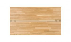 Stół Atin 160 z blatem z drewna dębowego Meble Diana.pl