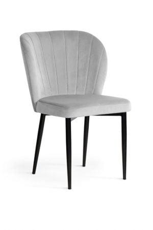 Krzesło tapicerowane Muszelka